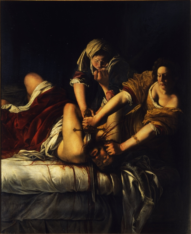 Artemisia_Gentileschi_-_Giuditta_decapita_Oloferne_-_Google_Art_Project (1)